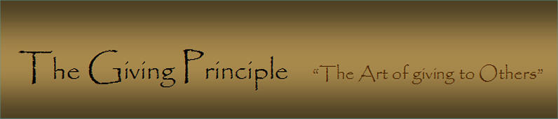 The Giving principle Logo